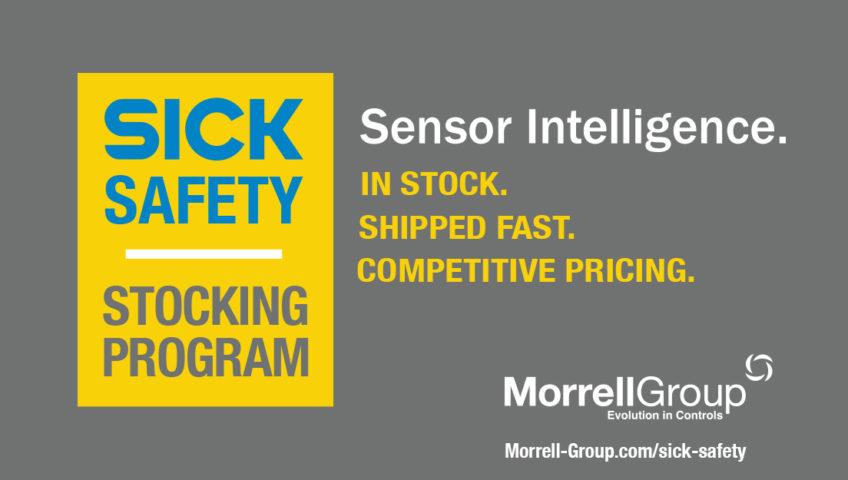 Sick Safety Stocking Program - Sensor Intelligence