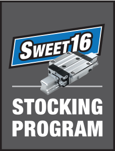 Bosch Rexroth Ball Rail Sweet 16 Stocking Program